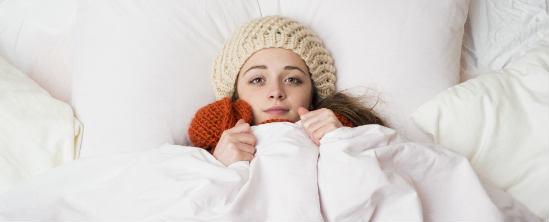 freezing during pregnancy