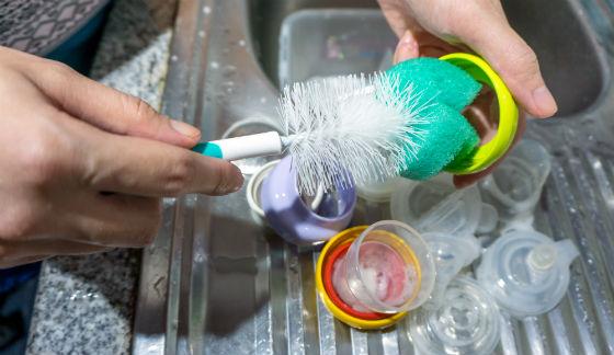 baby dish soap