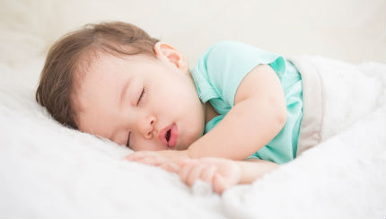 infant gasping awake reflux